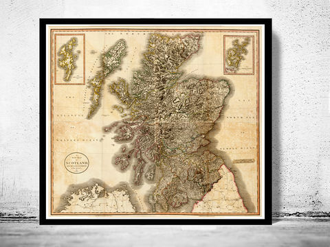 Old,Map,of,Scotland,1801,Vintage,Look,North,britain,Art,Reproduction,Open_Edition,old_map,atlas,map_of_scotland,scotland_map,edinburgh,vintage_map_scotland,antique_map_scotland,retro,antique_map,vintage_map,scotish,decor
