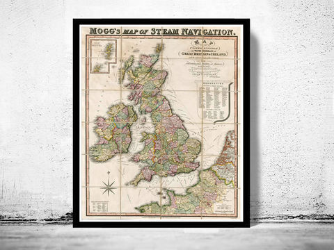 Old,Map,of,British,Isles,United,Kingdom,1845,Art,Reproduction,Open_Edition,England,United_Kingdom,Scotland,Great_Britain,england_map,united_kingdom_map,ireland_map,scotland_map,vintage_england,map_of_ireland,map_of_scotlan,map_of_england,ireland_poster