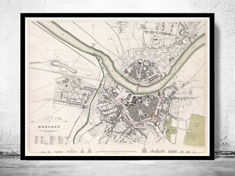 Old,Map,of,Dresden,Germany,1833,Vintage,Art,Reproduction,Open_Edition,gravure,vintage_map,city_plan,germany,deutshland,dresden,old_map,vintage_poster,dresden_map,map_of_dresden,dresden_poster