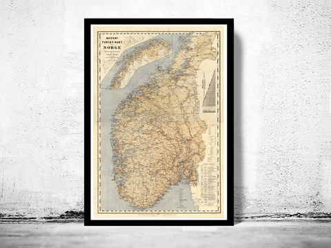 Old,Map,of,Norway,Norge,1889,Vintage,Art,Reproduction,Open_Edition,sweden,norway,scandinavia,old_map_of_norway,norway_map,antique_map,scandinavia_map,old_map_norway,norway_vintage,medieval_norway,norwegian,oslo_map,antique_map_norway, norge, norway map