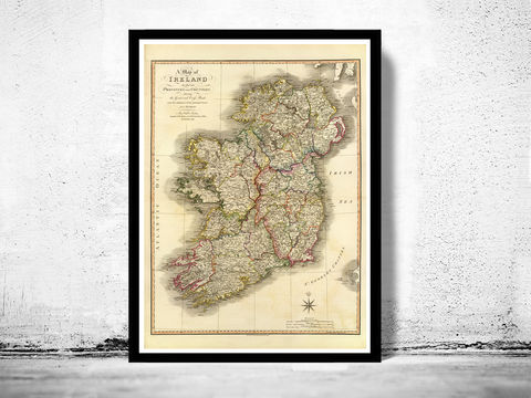 Old,Map,of,Ireland,1798,Art,Reproduction,Open_Edition,United_Kingdom,old_map,map_of_ireland,ireland_map,medieval,irish,ireland_poster,vintage_map,antique_ireland_map,vintage_ireland,dublin,ireland_retro