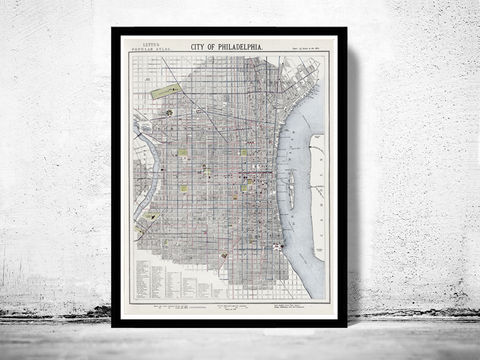 Old,Map,of,Philadelphia,1883,Vintage,Art,Reproduction,Open_Edition,philadelphia,United_States,city_map,city_plan,old_map,vintage_map,engraving,philadelphia_map,antique_map,philadelphia_poster,old_philadelphia_map,vintage_philadelphia
