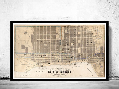 Old,Map,of,Toronto,Ontario,Canada,1857,Vintage,map,Art,Reproduction,Open_Edition,vintage_map,city_plan,old_map,streets,canada,old_map_of_toronto,toronto_map,toronto_city,toronto_guide,toronto,poster,toronto_canada,toronto_ontario