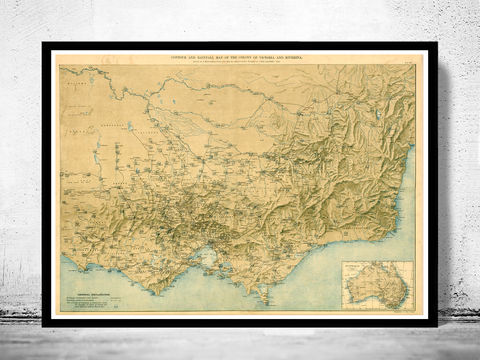 Old,Map,of,Victoria,Australia,Oceania,1896,victoria poster,Reproduction,Open_Edition,vintage,old_map,atlas,illustration,New_Zealand,victoria australia,australia_map,victoria map,map_of_australia,victoria,australia_vintage