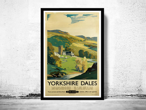 Vintage,Poster,of,Yorkshire,Dales,England,1920,Tourism,poster,travel,Art,Reproduction,Open_Edition,vintage_poster,travel_poster,yorkshire_poster,england,england_travel,english_decor,yorkshire_dales,england_retro,england_tourism,england_vintage,yorkshire,travel_emngland