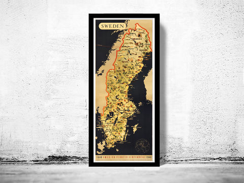 Old,Map,of,Sweden,pioneer,centennial,vintage,poster,swedish art, centennial pionner, sweden poster, sweden print, sweden, sweden map, vintage sweden, swedish art, Art,Reproduction,Open_Edition,old_map,antique,illustration,sweden,norway,scandinavia,sweden_map,norway_map,scandinavia_map,sweden_art,no