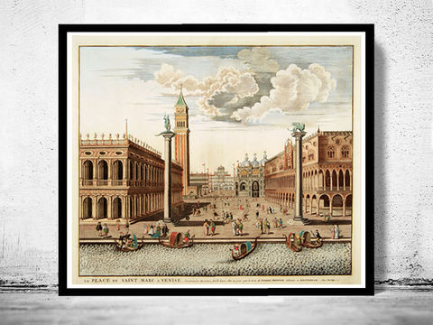 Saint,Marc,Square,Venice,old,engraving,illustration,,,Venetia,Italy,Vintage,1708,Art,Reproduction,Open_Edition,city,vintage,wall_decor,retro,old_gravure,venice,venetia,italy,italia,Saint_Marc_Square,St_Marc_Place