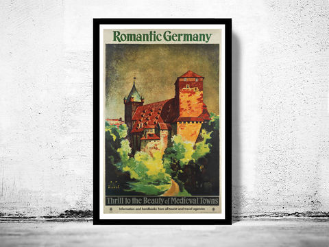 Vintage,Poster,of,Germany,,Romantic,Germany,Travel,Tourism,1930-,Art,Reproduction,Open_Edition,retro_poster,travel_poster,touristic_poster,tourism_germany,germany_poster,germany_decor,germany_travel,germany_wall_decor,germany_vintage,germany_retro,german_poster,romantic,germany
