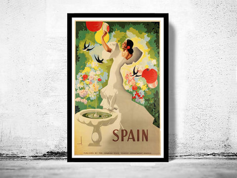 Vintage,Poster,of,Spain,,Travel,Tourism,1940,Art,Reproduction,Open_Edition,vintage_poster,musicians,retro_poster,travel_poster,touristic_poster,alaska_wall_decor,alaska_poster,alaska_travel,alaska_retro,alaska_decor,alaska_vintage,age_travels,tourism_spain