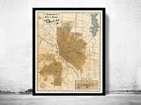 Old,map,of,Dallas,1922,Texas,panoramic view  , birdseye , vintage map  , old map  , dallas poster, dallas, dallas texas, dallas map, map of dallas, dallas vintage, dallas gift, old map of dallas