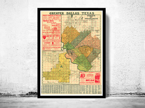 Old,map,of,Dallas,1905,Texas,panoramic view  , birdseye , vintage map  , old map  , dallas poster, dallas, dallas texas, dallas map, map of dallas, dallas vintage, dallas gift, old map of dallas