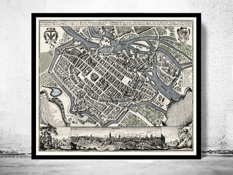 Old,Map,of,Wroclaw,with,gravures,Poland,1735,Vintage,Art,Reproduction,Open_Edition,poland_map,old_map_of_breslaw,Wroclaw_poster,wroclaw_map,breslau_map,map_of_wroclaw,wroclaw_decor,old_wroclaw,wroclaw_poland,wroclaw_vintage