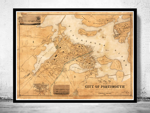 Old,map,of,Portsmouth,,New,Hampshire,1850,Art,Reproduction,Open_Edition,vintage,australia,antique_map,vintage_map,portsmouth_map,maps_of_portsmouth,new_hampshire,portsmouth,portsmouth_hampshire,portsmouth_city_plan,portsmouth_poster,portsmouth_vintage,old_map