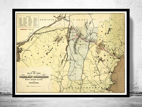 Vintage,Old,Map,of,Portland,and,Ogdensburg,Rail,Road,line,,United,States,1850,Art,Reproduction,Open_Edition,old_map_of_melbourne,portland,map_of_portland,portland_map,vintage_portland,portland_vintage,portland_city,portland_poster,portland_usa,railroad_portland,united_states_map