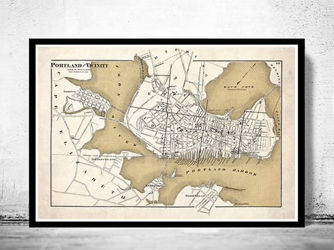 Old,Map,of,Portland,City,United,States,America,1871,Art,Reproduction,Open_Edition,united_states,vintage_map,new_york_map,brooklyn_map,portland_city,old_map_of_portland,portland_harbour,map_of_portland,fore_river,portland_poster,portland_vintage,Cumberland_County,Maine_map