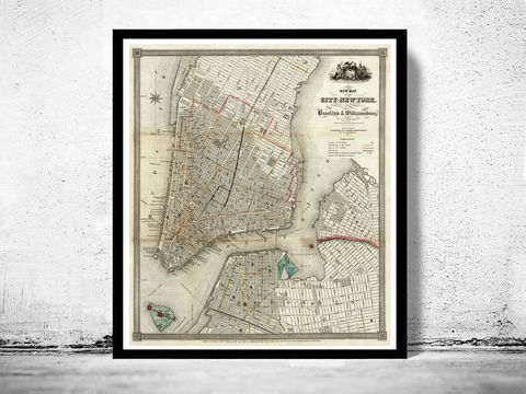 Old,Map,of,New,York,and,Brooklyn,1840,Manhattan,Vintage,Art,Reproduction,Open_Edition,united_states,brooklyn,new_york,Hudson_River,old_map,city_plan,vintage_map,new_york_map,map_of_new_york,brooklyn_map,old_map_of_new_york,new_york__brooklyn,manhattan