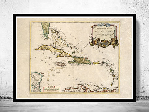 Old,Map,of,Antilles,Bahamas,,Bahama,Islands,1759,antilles, bahamas, bahama islands, bahamas map, caribbean map, caribbe