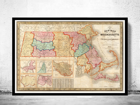 Old,Map,of,Massachusetts,1839,,Boston,,Salem,,Worcester,Lowell,,Springfield,massachusetts, map, worcester, boston, lowell, springfield, massachusetts map, map of massachusetts