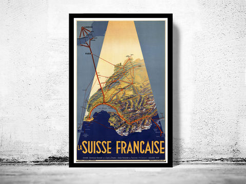 Vintage,Poster,of,Switzerland,Suisse,Française,,1939,suisse francaise, suisse poster, switzerland, tourisme poster,  advertise poster,Art,Reproduction,Open_Edition,vintage_poster,retro_poster,travel_poster,touristic_poster
