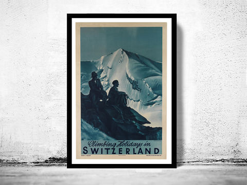 Vintage,Poster,of,Switzerland,,Travel,Tourism,1930-40,switzerland poster, vintage poster, swisse, vintage switzerland, switzerland print, antique map, maps and prints, old posters for sale, reproductions posters,Art,Reproduction,Open_Edition,vintage_poster,retro_poster,travel_poster,touristic_poster,Switzerl