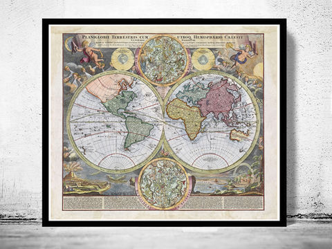Old,Map,of,The,World,1730,Antique,map,Art,Reproduction,Open_Edition,vintage,World_map,old_map,antique,atlas,world_atlas,vintage_map,hemisphere,old_world_map,medieval,engraving,map_of_the_world, antique map of the world, old map of th world, vintage map of the earth