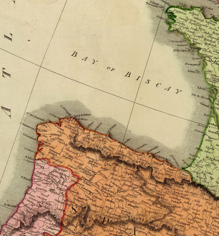 Beautiful Old Map of Europe 1816 - product image