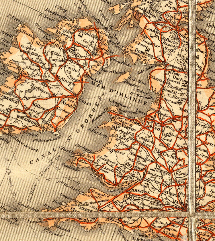 Old Europe Map 1867 - product images  of