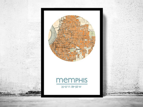 MEMPHIS,-,city,poster,map,print, MEMPHIS  print, MEMPHIS  poster, united states Poster, american art, MEMPHIS , MEMPHIS map, wall decor, city,maps, travel poster
