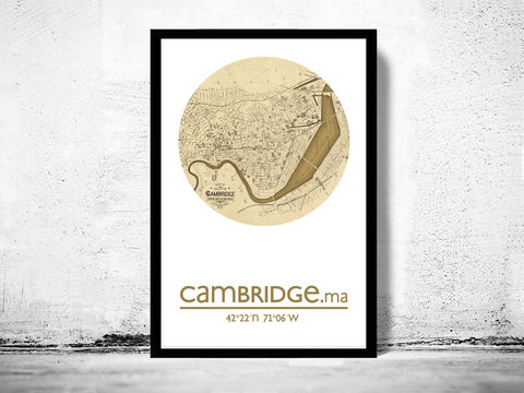 CAMBRIDGE,MA,-,city,poster,map,print, CAMBRIDGE print, CAMBRIDGE poster, united states Poster, american art, CAMBRIDGE, CAMBRIDGE map, wall decor, city,maps, travel poster