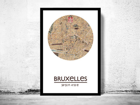 BRUSSELS,BRUXELLES,-,city,poster,map,print, bRUSSELS print, brussels poster, belgium Poster, bruxelles art, brussels, brussels map, bruxeles, wall decor, city,maps, travel poste