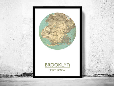 BROOKLYN,-,city,poster,map,print,Art,Reproduction,Open_Edition,brooklyn_print,brooklyn_poster,american_art,brooklyn,brooklyn_map,wall_decor,maps,travel_poster