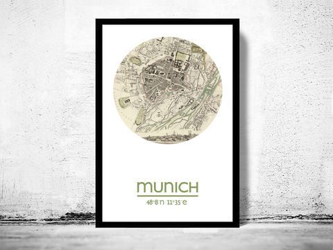 MUNICH,-,city,poster,map,print,Art,Reproduction,Open_Edition,MUNICH_print,MUNICH_poster,germany_Poster,germanic_art,MUNICH_map,wall_decor,GERMAN_art,maps,travel_poster