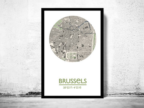 BRUSSELS,-,city,poster,map,print, BRUSSELS print, BRUSSELS poster, belgium Poster, BRUSSELS art, BRUSSELS, brussels map, wall decor, city,maps, travel poster