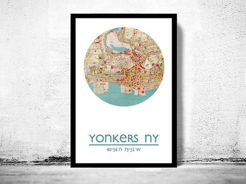 YONKERS,-,city,poster,map,print,Art,Reproduction,Open_Edition,YONKERS_print,new_york_poster,YONKERS_Poster,american_art,YONKERS_map,wall_decor,maps,travel_poster