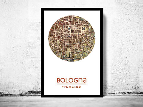 BOLOGNA,-,city,poster,map,print,Art,Reproduction,Open_Edition,bologna_print,bologna_poster,italian_art,bologna_city,bologna_map,wall_decor,maps,bologna,travel_poster,bolonha