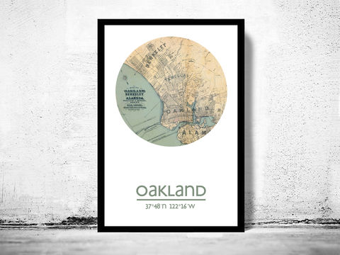 OAKLAND,-,city,poster,map,print,Art,Reproduction,Open_Edition,oakland_print,oakland_poster,United_States_Poster,oakland,oakland_map,wall_decor,maps,travel_poster