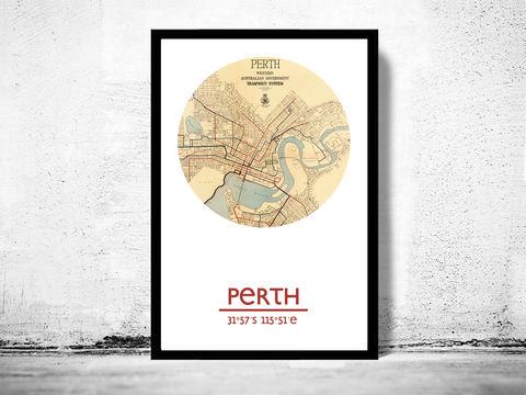 PERTH,-,city,poster,map,print, PERTH print, PERTH poster, PERTH Poster, AUSTRALIA art, PERTH , PERTH map, wall decor, city,AUSTRALI art,maps, travel poster