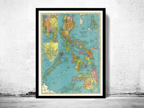 Old,Map,of,Philippine,Islands,Philippines,1903,Philippine Islands, old map of Philippine Islands, Philippine Islands poster, Philippine Islands retro, vintage Philippine Islands,Art,Reproduction