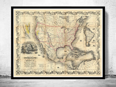 Old,Map,of,United,States,America,1849,Art,Reproduction,Open_Edition,old_map,antique,atlas,antique_map,vintage_map,north_america,united_states,united_states_map,american,american_airlines,vintage_poster,united_states_poster,USA_map