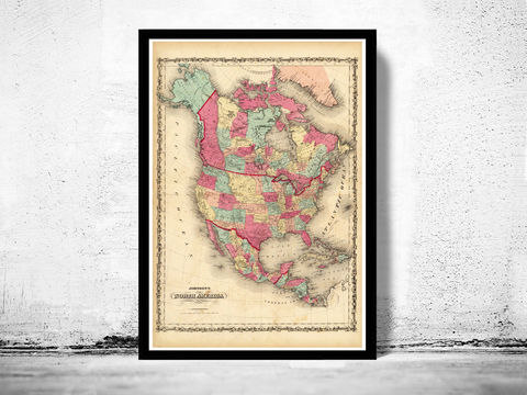 Old,Map,of,United,States,America,,North,America,1860,Art,Reproduction,Open_Edition,old_map,antique,atlas,antique_map,vintage_map,north_america,united_states,united_states_map,american,vintage_poster,united_states_poster,USA_map