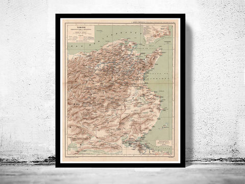 Old,Map,of,Tunisie,Tunisia,1912,tunisia map, map of tunisia, tunisie mappe, map of tunisie, old map of tunisie, Art,Reproduction,Open_Edition,vintage_poster,travel_poster,tunisia, tunisie tourisme, tunisia poster, tunisie wall decor