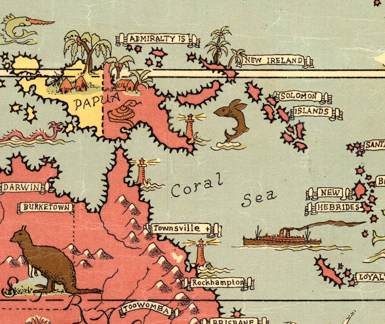Marvellous Vintage World Map  - product images  of