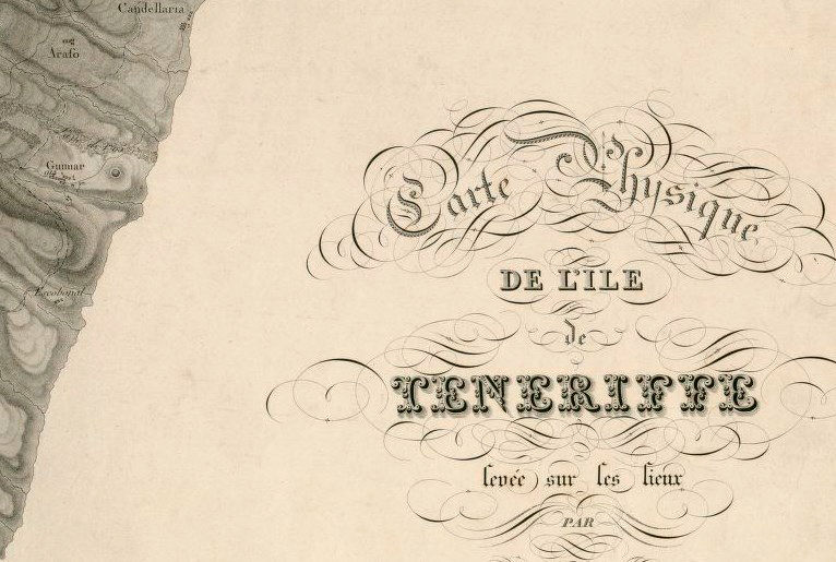 Old Map of Tenerife Canary Islands 1831 - product images  of