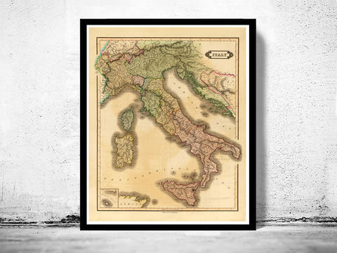 Old,Map,of,Italy,1831,italia,antique map, old map,Art,Reproduction,Open_Edition, italy map, map of italy,italy,italie,mediterranean_sea,Vintage_map,vintage_poster,old_map,old_map_of_italy,antique_map_italy,map_poster