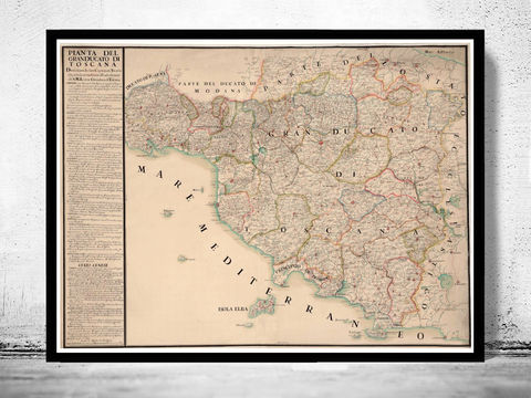 Great,Map,of,Tuscany,Toscana,Italy,1780,map of tuscany, mappa di toscana, toscana italy, umbria italy, umbria toscana, toscana map, tuscany italy, umbria tusca