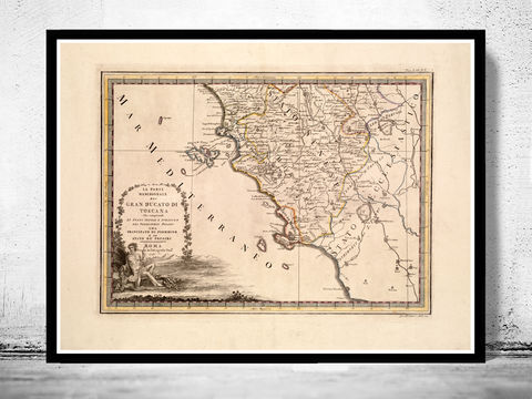Old,Map,of,Tuscany,Toscana,Italy,1791,map of tuscany, mappa di toscana, toscana italy, umbria italy, umbria toscana, toscana map, tuscany italy, umbria tusca
