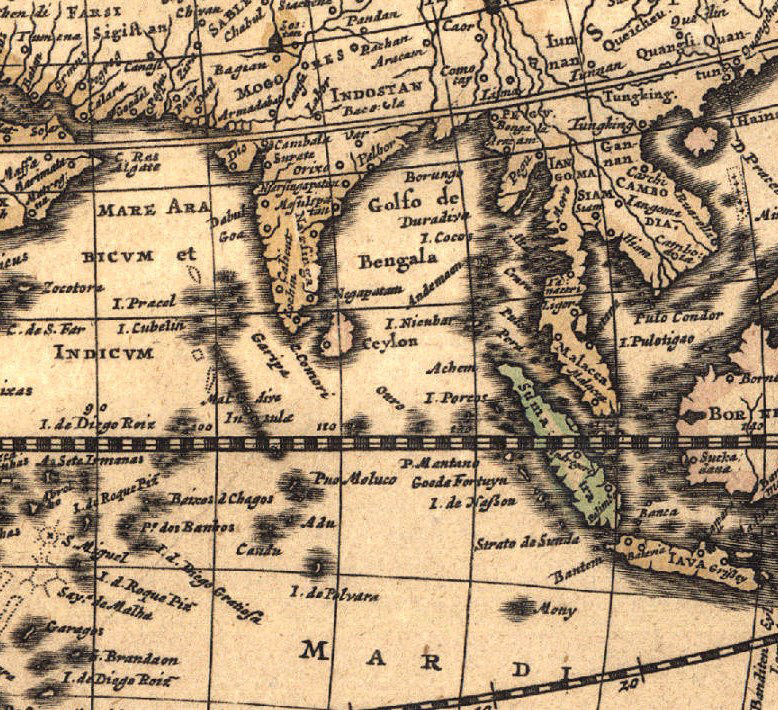 Old World Map Antique 1666 - product images  of