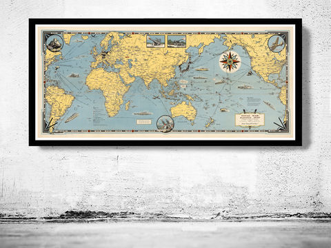 Old,World,Map,Total,War,Vintage,Poster,world wonders, world map, vintage world map, old world map, vintage look map, maps and atlases