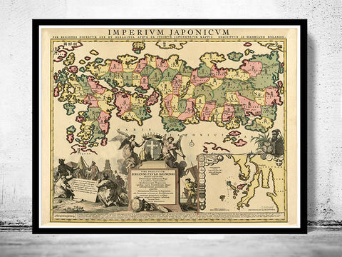 Old,Map,of,Japan,1718,Antique,Sea,Art,Reproduction,Open_Edition,vintage,japan_sea,japan,tokyo,old_map,vintage_map,japan_map,map_of_japan,japan_decor,japanese,japan_art,japan_poster,asia