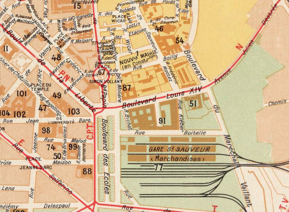 Old Map of Lille France - product images  of